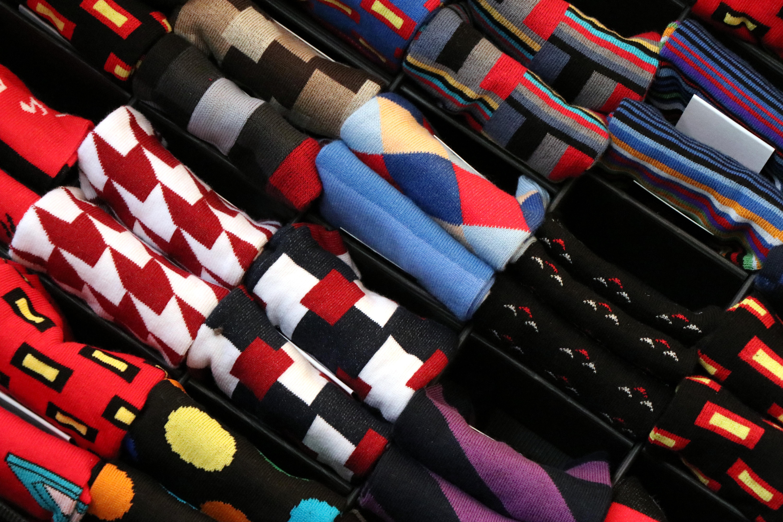 Barevné ponožky | Vývoj Třešť