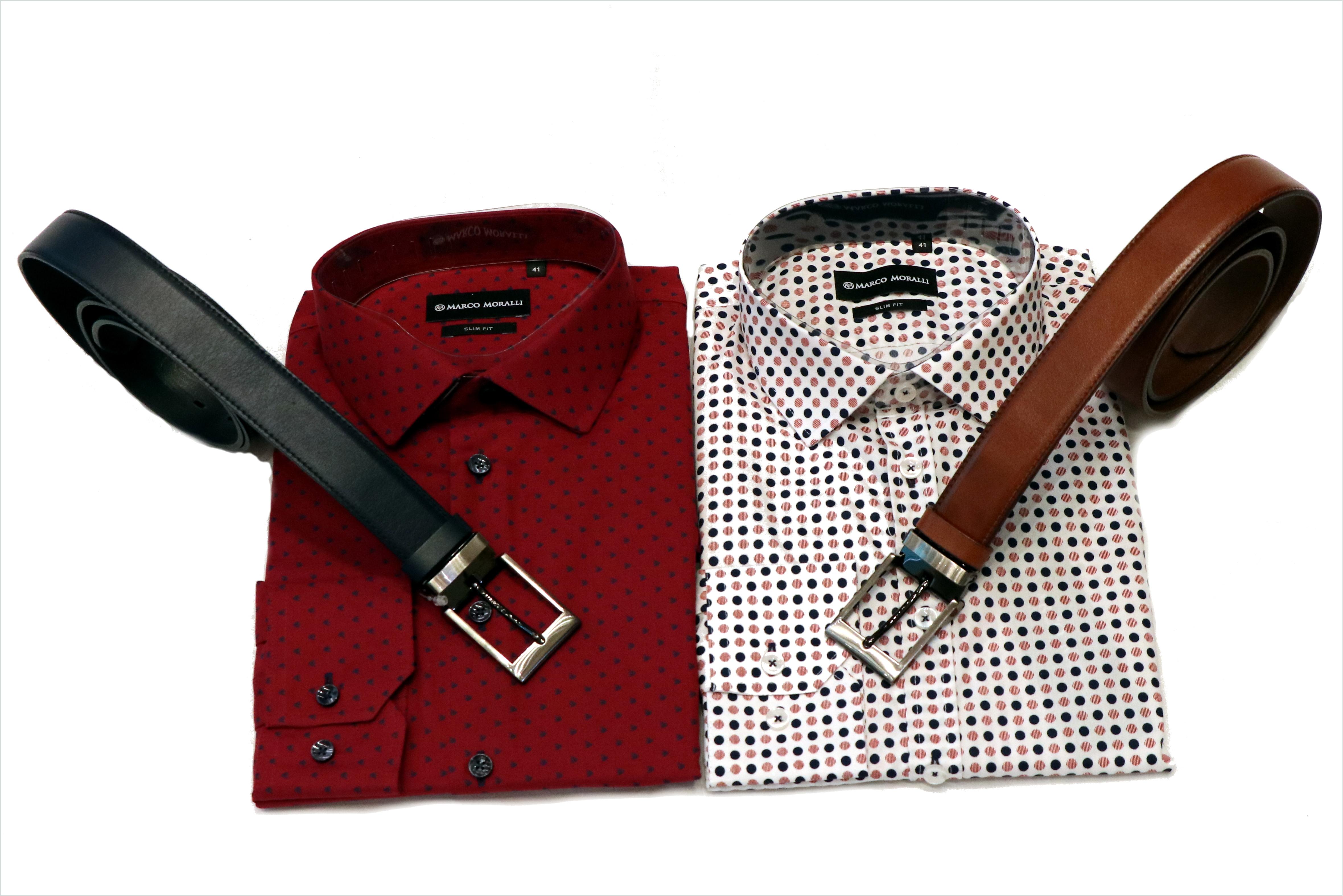 Vánoční set košile a pásek | Vývoj Třešť