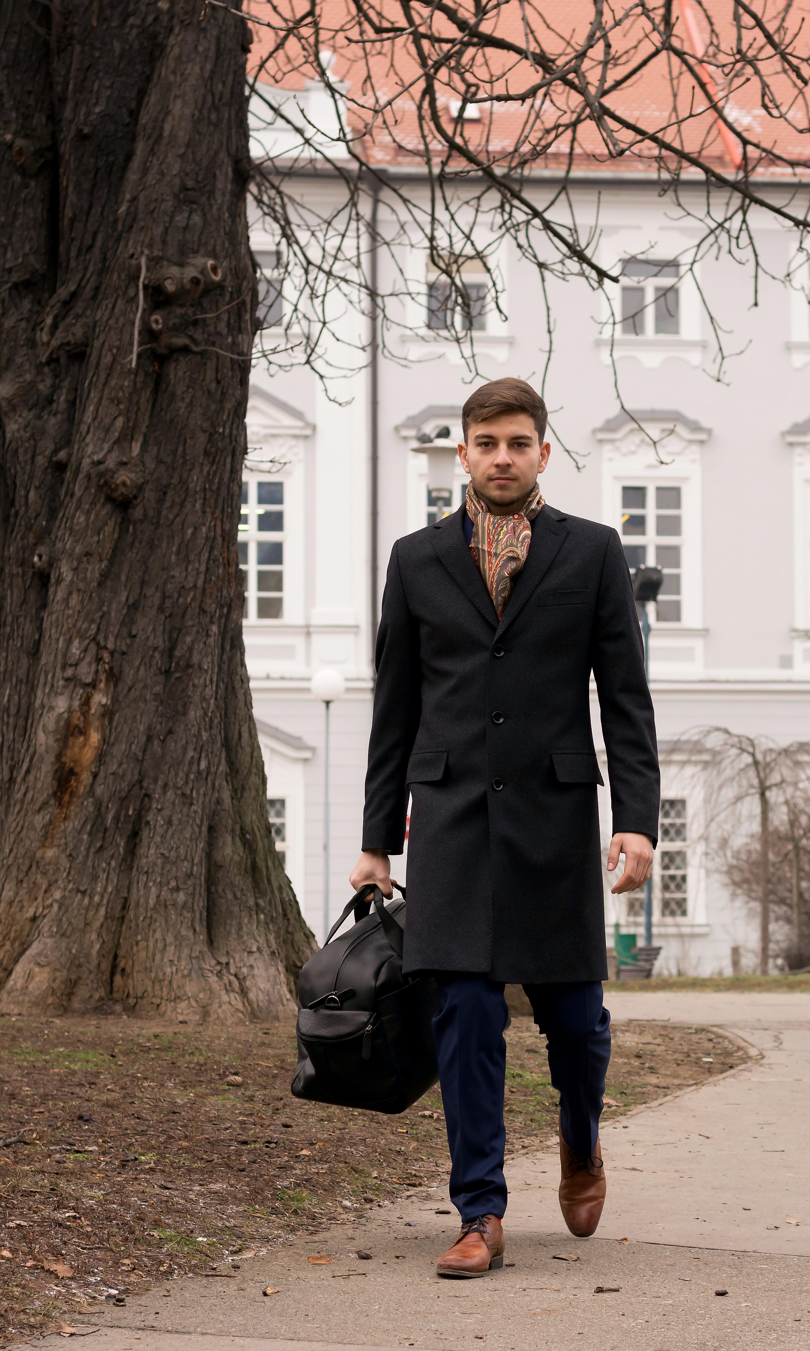 Pánský kabát | Vývoj Třešť