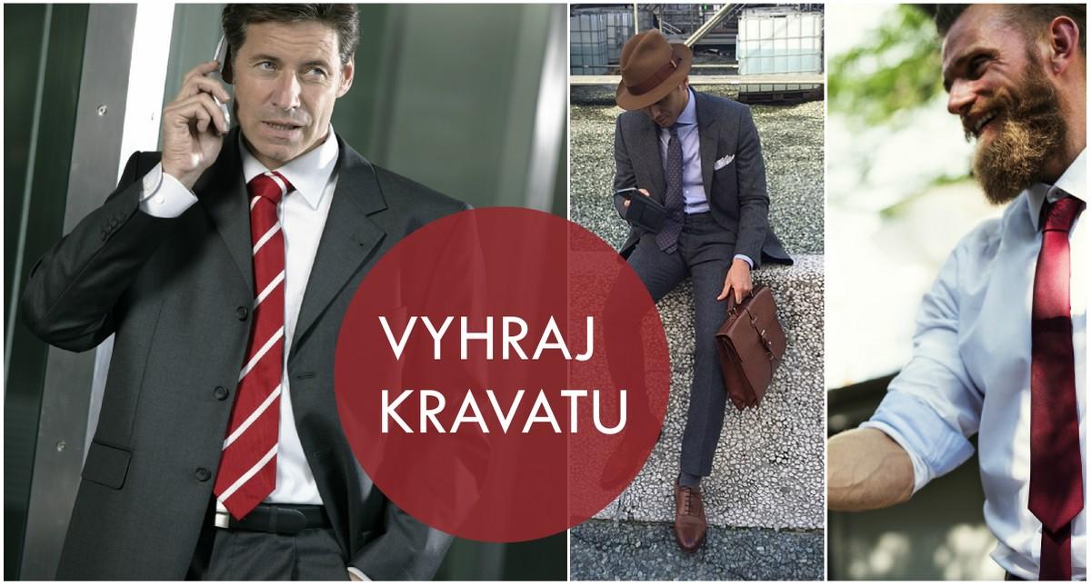 Vyhrajte kravatu s Vývojem