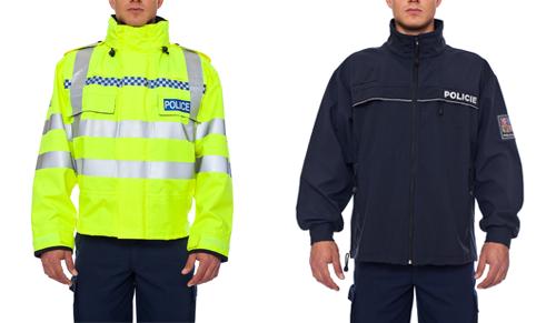 Policie funční oblečení od Vývoje