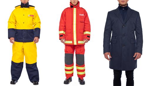 funkční pracovní oděvy Vývoj