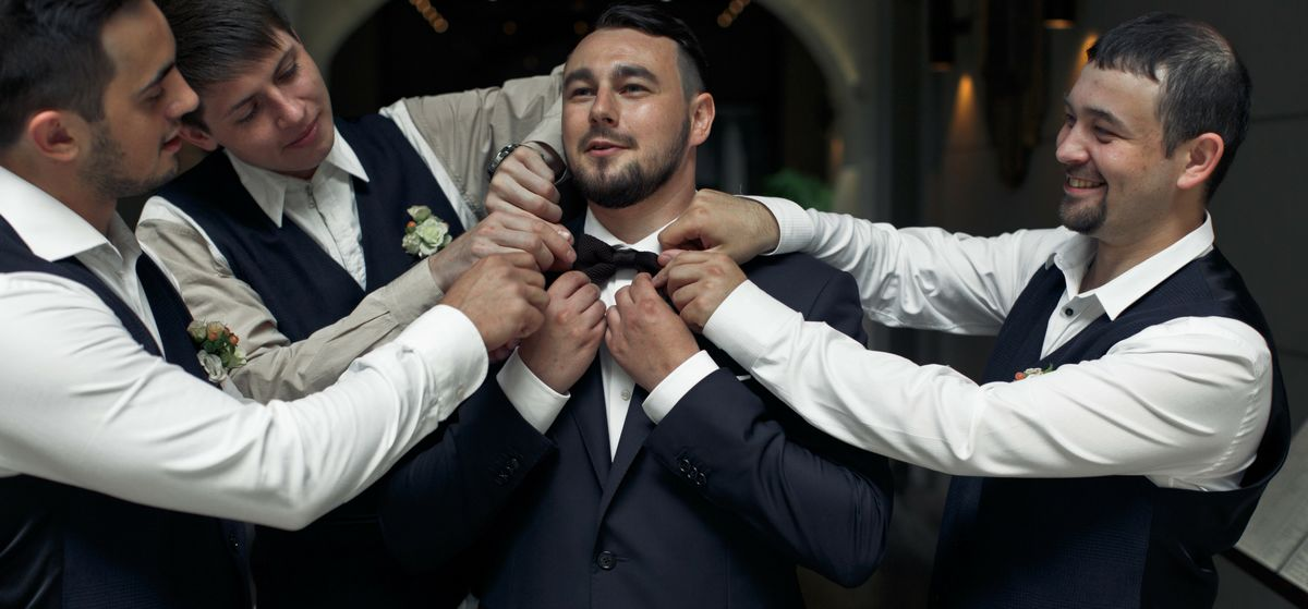 Panske obleky na svatbu